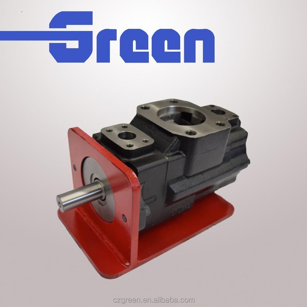 rotary vacuum pump oil denison T6 T7 series hydraulic vane pump double pump