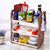 Simple Plastic Multi- Layer Kitchen Spice Sauce Collection Kichen Storage Rack
