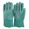 SRSAFETY Best longer PVC dipped gloves/PVC glove dot machine/Safety blue PVC working gloves