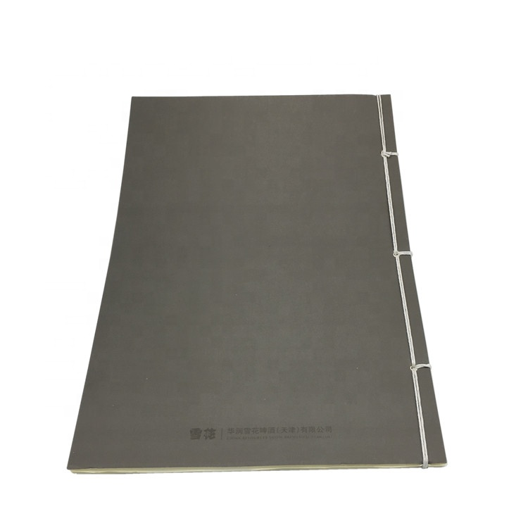 2019 Chinese Traditional Binding Paper Notebook In Custom