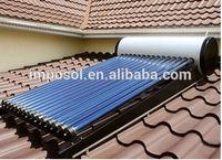 100L-500L compact high pressure solar water heater , solar geyser