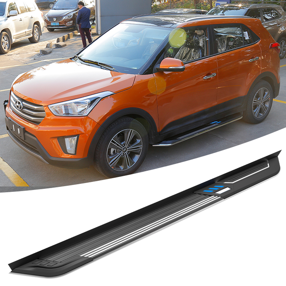 Factory Style Unique Design Hyundai Running Boards For Creta Side Step Bar 4x4 Accessories - Buy