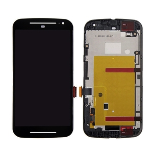 For motorola G2 G 2 2nd Gen XT1063 XT1064 XT1068 XT1069 LCD Display Digitizer Touch Screen Panel With Frame Assembly