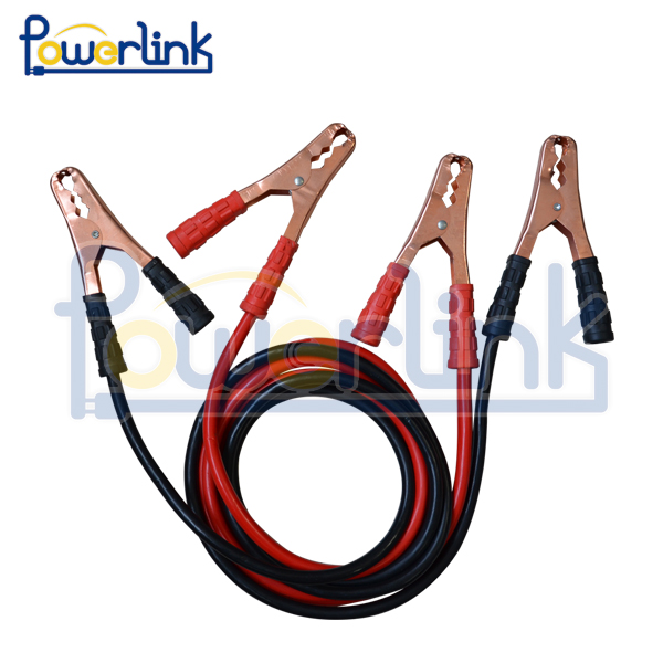J60090 20 Foot Jumper Cables with Carry Bag - 4 Gauge, 500 AMP Booster Cable Kit