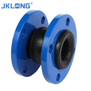 Pipe flexible  expansion Rubber Ring Joint EPDM Flexible RubberJoint iron hydraulic adapter