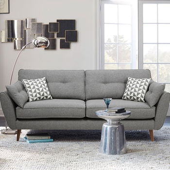 modern italian style lazy sofa set furniture with armrest