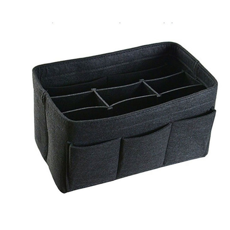 high quality wholesale felt purse insert organizer