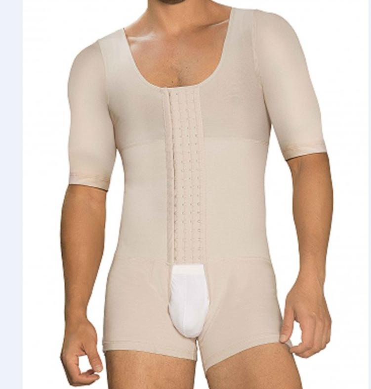 New Design Shaper Fajas Colombianas para  Mens Girdle High Compression  Shapewear Body Shaper for Men