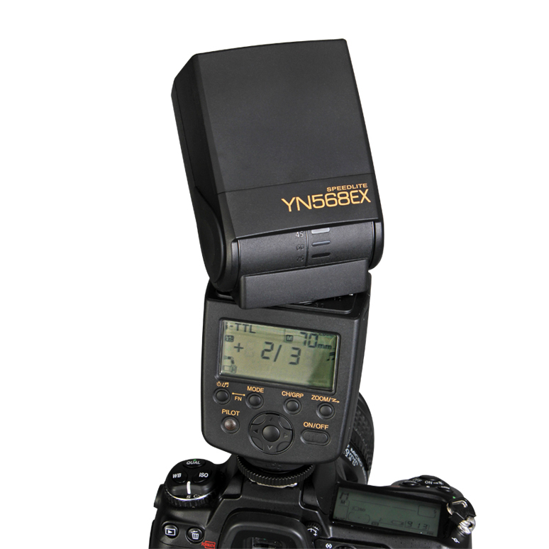 Free Shipping Guaranteed 100% Yongnuo YN-568EX Wireless Slave i-TTL Flash Speedlite with High-Speed Sync 1/8000 for Nikon