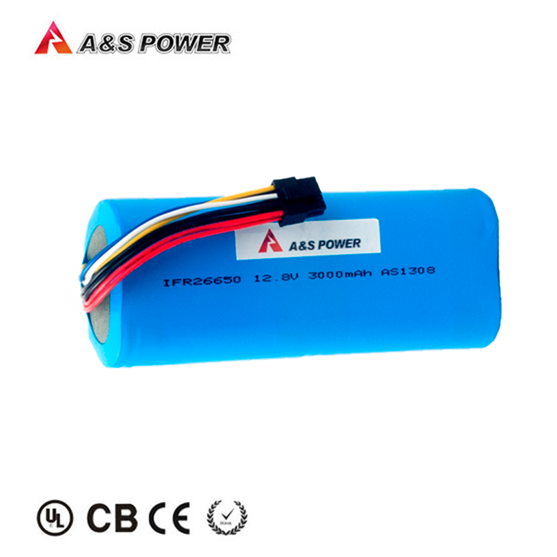 2000 times cycle 26650 12.8v 3000mah lifepo4 battery pack for solar street lights