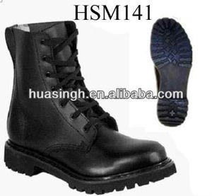 XM,cheap waterproof black leather boots national defence security guard army police boots
