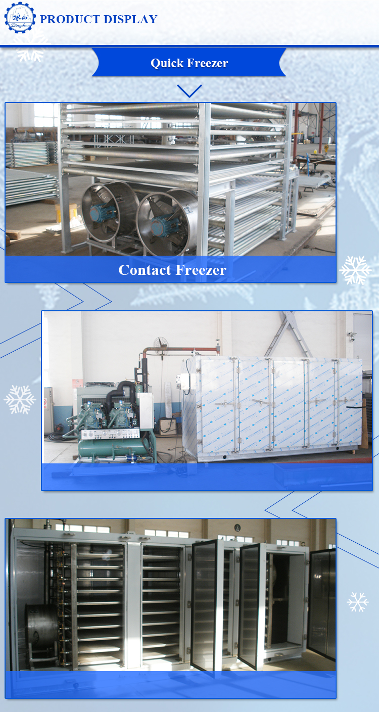 Block tool for plate for freezing aluminum alloy contact freezer