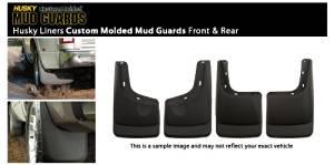 03 - 10 Hummer H2 / H2 SUT Husky Custom Splash Guard Mud Flap - Front & Rear