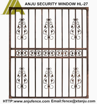 Durable Simple Steel Window Grill Design