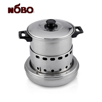 3 in 1 Popular portable shabu shabu chafing dish stainless steel mini unique chafing dishes