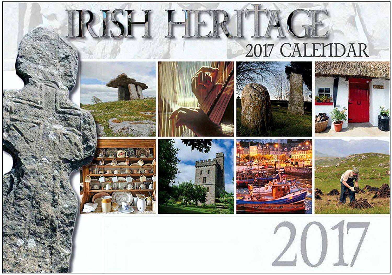 Irish Heritage wall Calendar 2017 - Made in Ireland