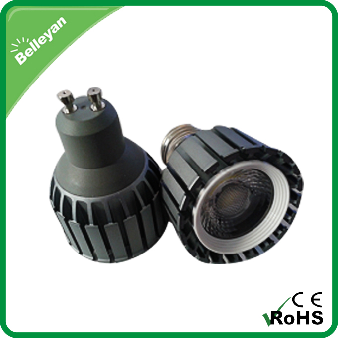 High Power 700Lm GU10 E27 MR16 8W COB LED Spotlight