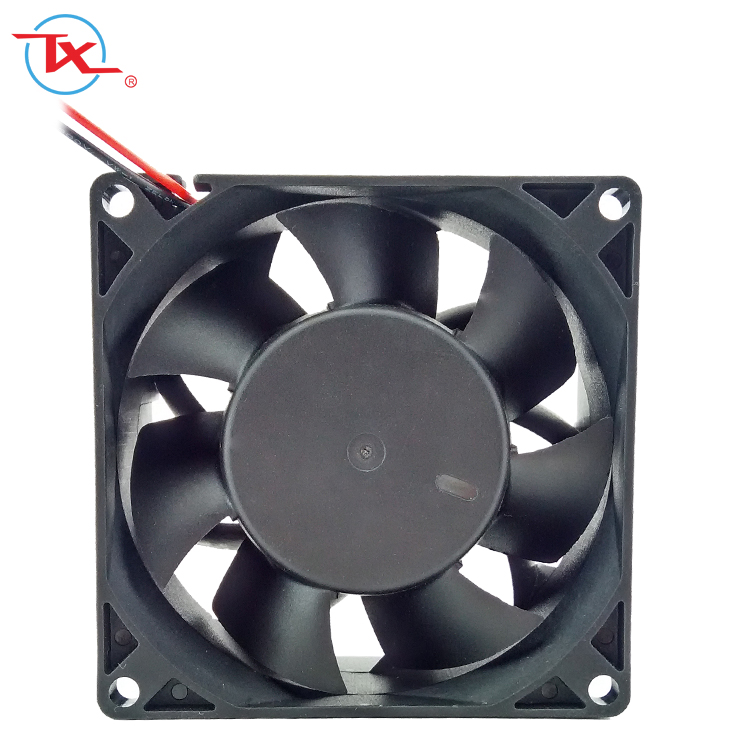 8038 <strong>DC</strong> 24V Equipment Internal Mini Brushless Fan 80*80*38mm 8CM High Air Flow Good Quality Waterproof