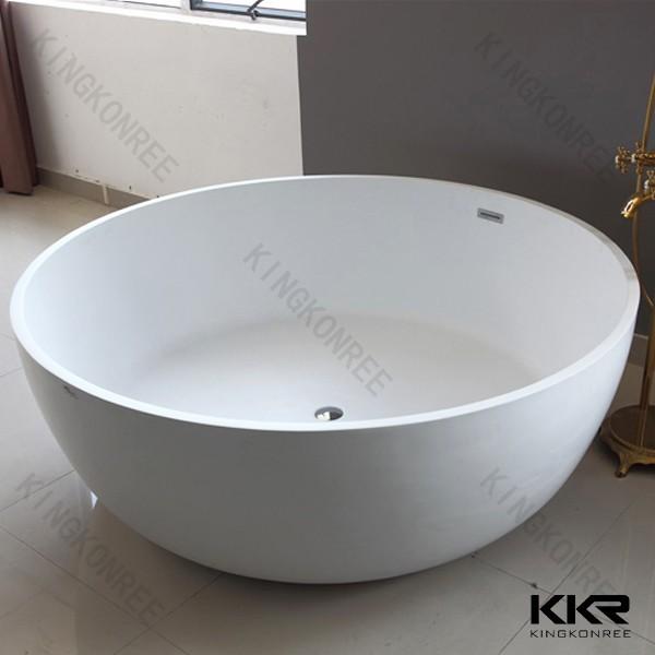Solid Surface Wholesale Bathtubs Round Freestanding Bathtub