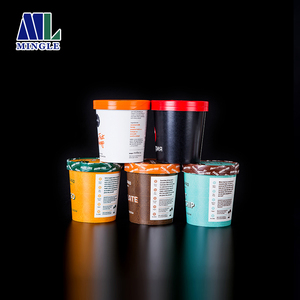New Products One-Off Ice Cream Paper Cup For Sale
