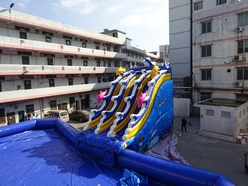 Used Swimming Pool Slide Inflatable Water Pool Slide For Sale View Used Swimming Pool Slide