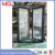 Aluminum glass entrance double door for house