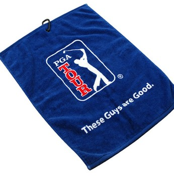 Custom Logo 400GSM Cotton Golf Sport Towel High Quality Promotional Gifts Towel For Golf Club
