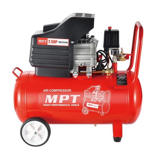 MPT 2.5HP 50L 8bar mini compressore d'aria auto prezzo
