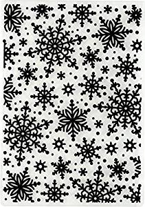 Hot Off The Press - Snowflakes Embossing Folder