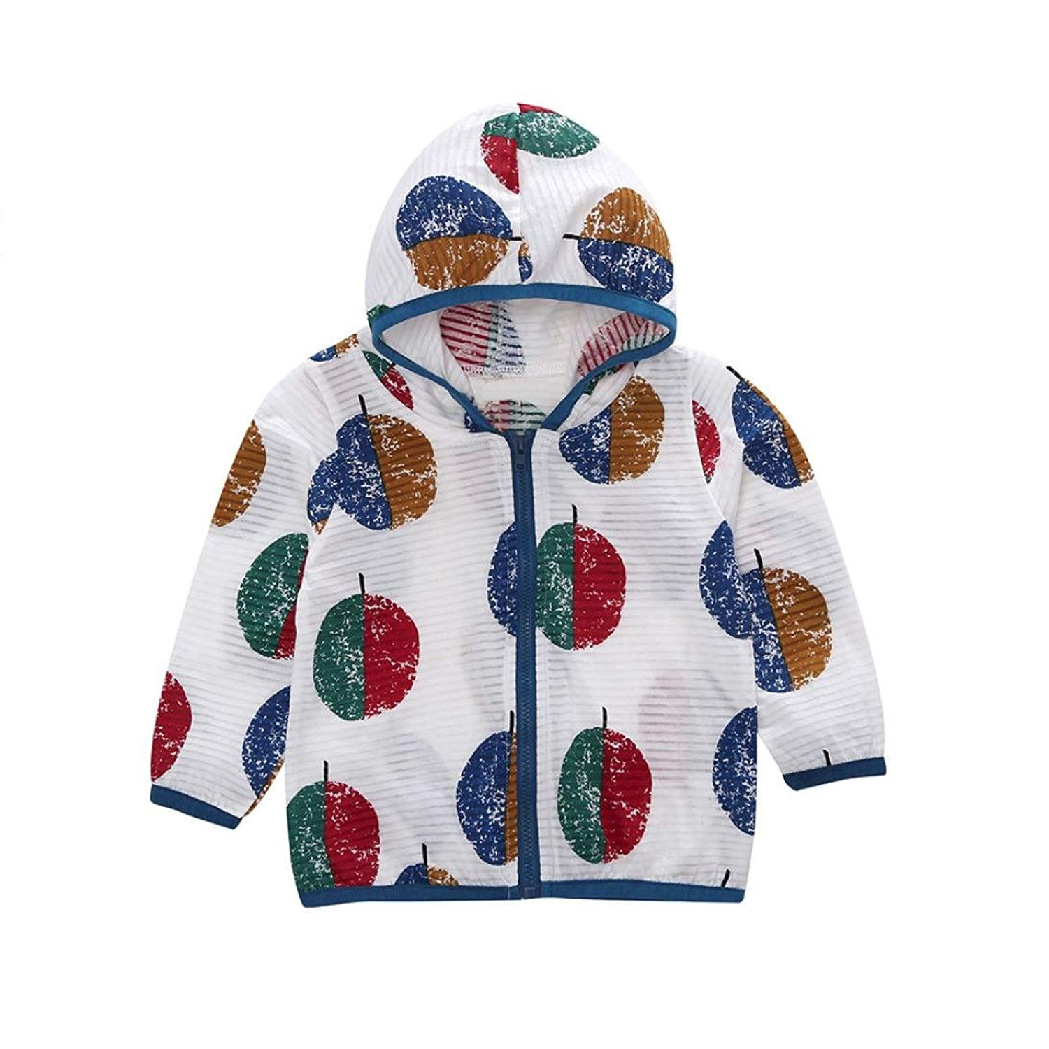 69114ec9c69 Get Quotations · Boomboom Baby Summer Coat Fashion Cute Unisex Boys Girls  Autumn Summer Clothes Coat Sunscreen Jacket