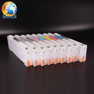 Supercolor 9 Colors T5921-T5929 100% Working Refillable Ink Cartridge For Epson 11880 Printer