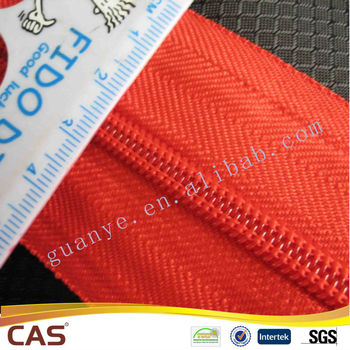 2014 hot sale Long Chain Nylon Zipper Factory Price With High Quality