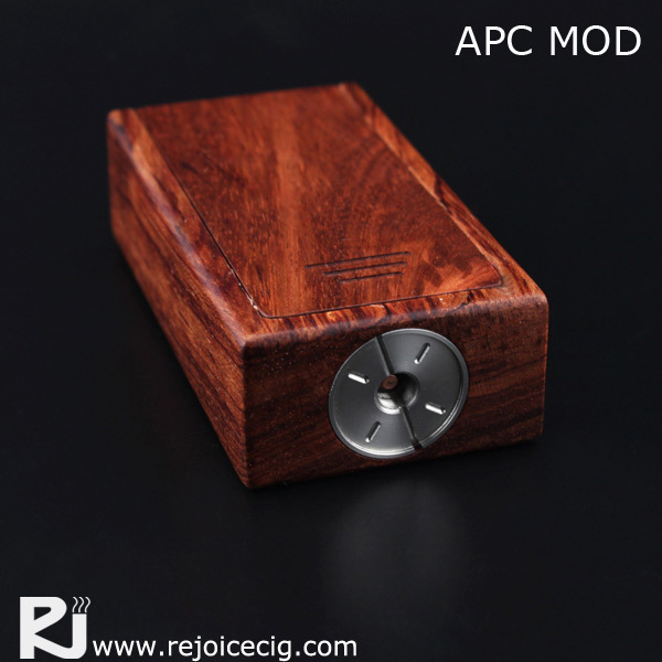 2018 The most papular Double 18650 APC box mod,APC wood box mod with factory price