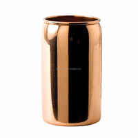 Modern Solid Copper Beer Can Cup 14.75oz / 420ml