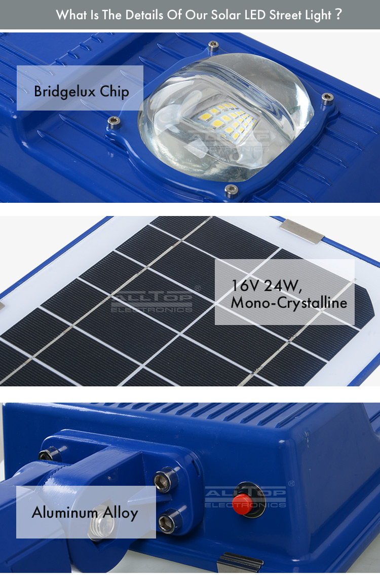 China direct sales high lumens ip65 30w 60w all in one solar led street light