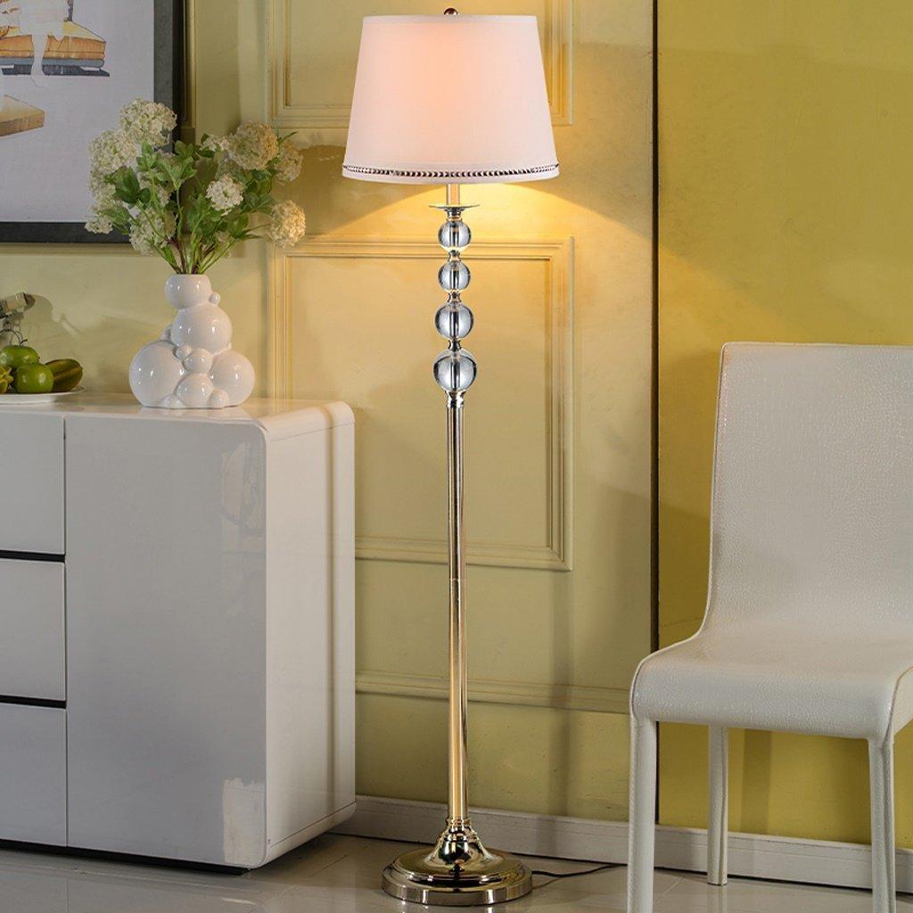Edge To Crystal floor lamp living room floor lamp bedroom lamp fashion floor lamp simple modern bedside lamp