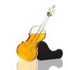 1000ml Violin Shaped Glass Bottle With Wooden Base