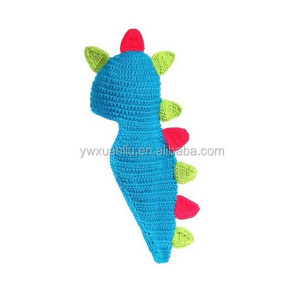 Catálogo de fabricantes de Crochet Sombrero Patrón Dinosaurio de ...