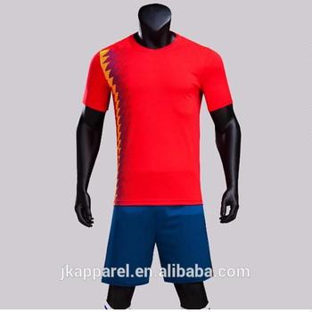 low priced 4617f dcba2 2018 Spain World Cup Soccer Uniform Customized National Team Soccer Wear  Football Uniform - Buy World Cup Uniform,National Team Soccer Uniform,Spain  ...