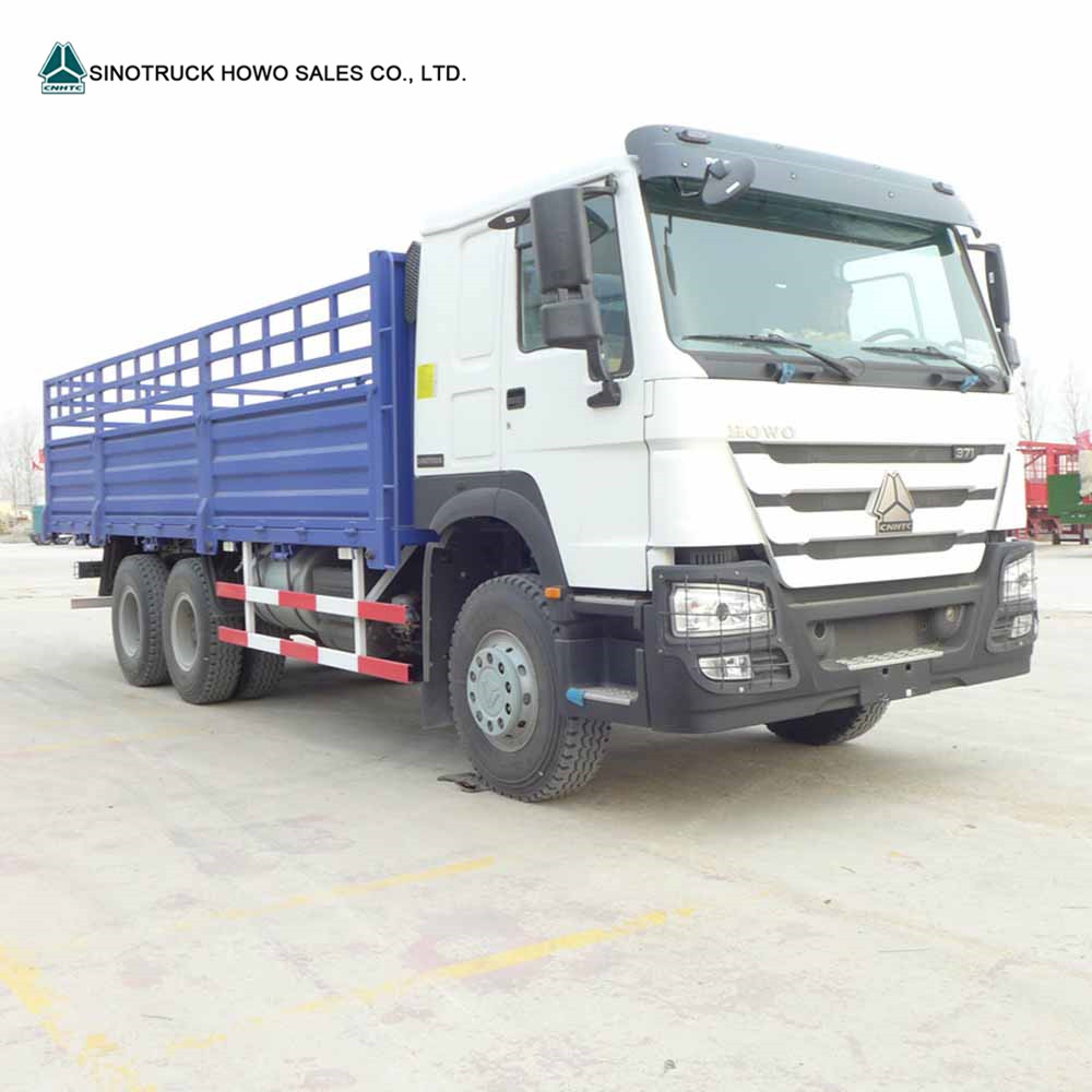 Sinotruk Howo 371hp Van Small Cargo Truck Price And Lorry For