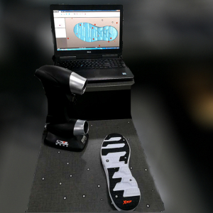 High precision PRINCE 775 3D handheld laser scanner for cnc