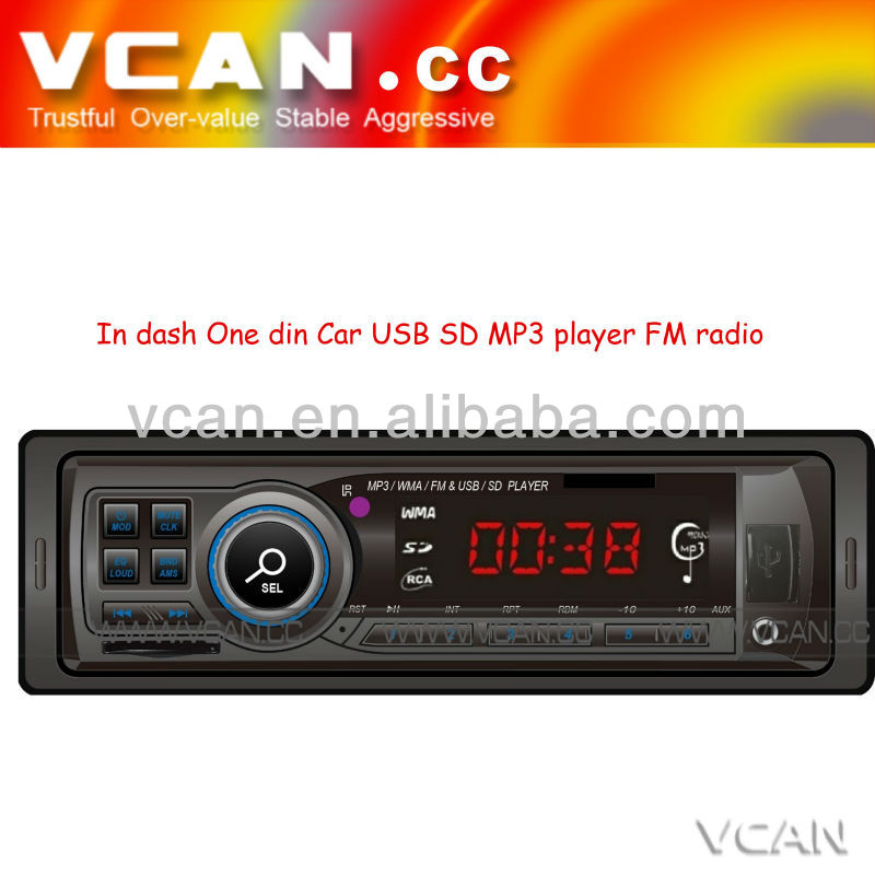car mp3 flash player In dash One din