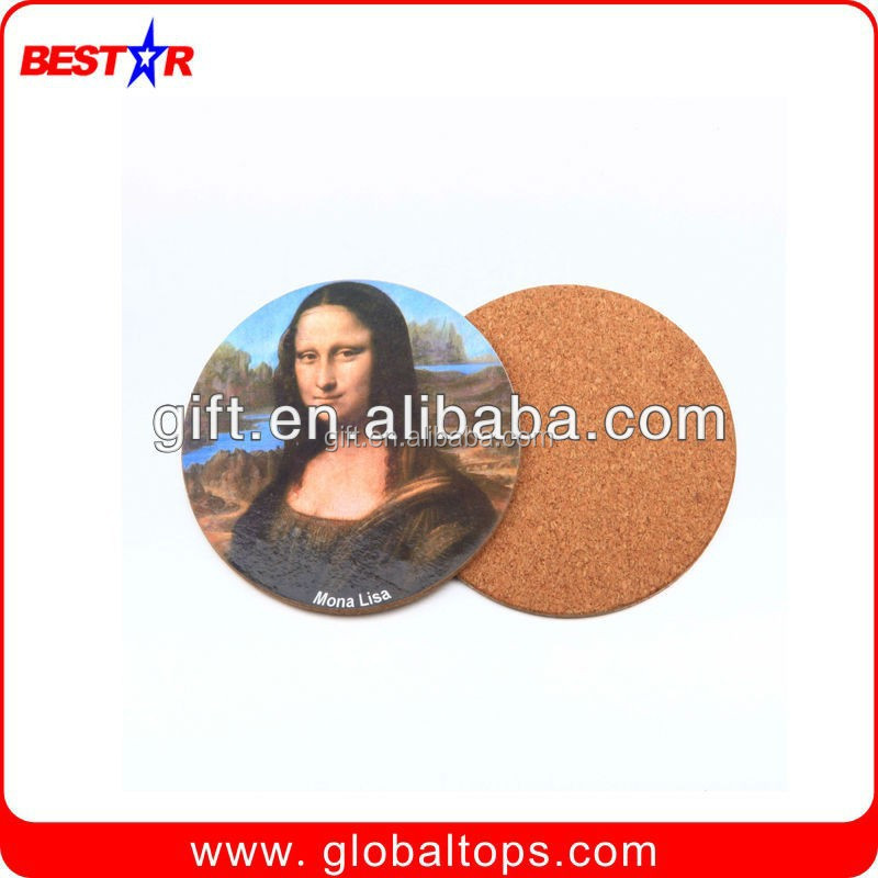 Fashional design water absorbent ceramic coaster