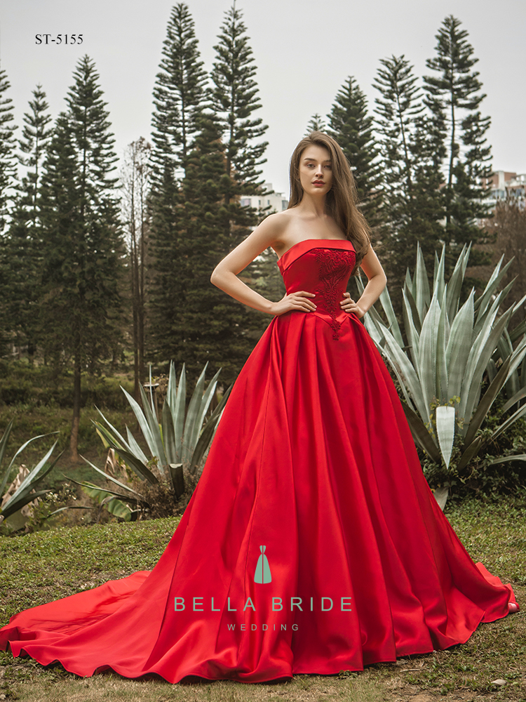 Red Frock Party Dress China Ball Gowns Quinceanera Dress - Buy Frock ...