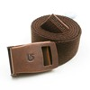 Herringbone cotton belt custom fabric men belts