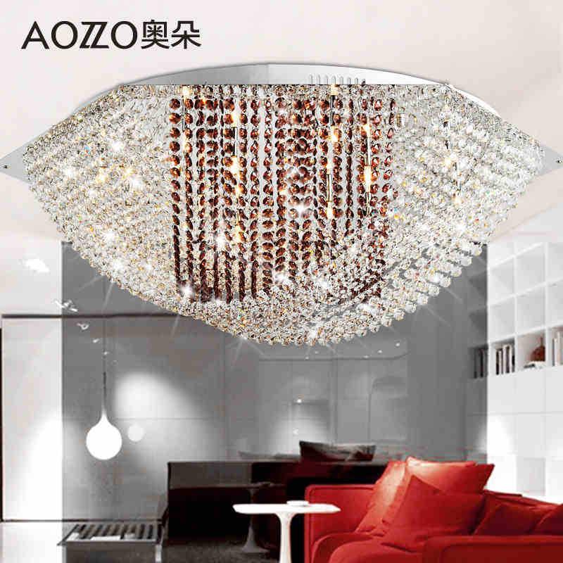 Dining Room Lighting Ikea: Fashion Luxury Dome Light With K9 Crystal Sitting Room