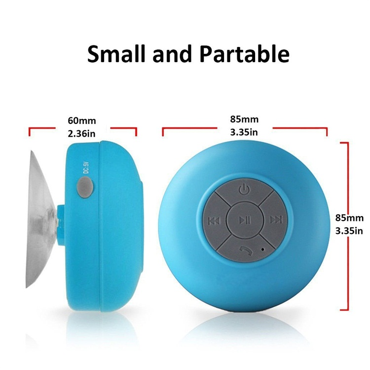 Promotional Outdoor Home Bathroom Wireless Shower Mobile Speaker