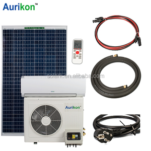 Solar AC 12000BTU- 24000BTU wall mounted hybrid solar air conditioner