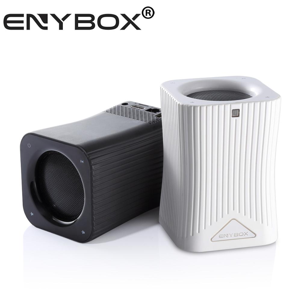 January CES SHOW Popularity Product ENYBOX HF10 S905X Android TV Box BT 4.0 Speaker BT Stereo Audio Player