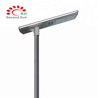 solar energy saving 15w 20w 30w 40w 50w 60w 70w 80w 100w integrated lamp,all in one solar led street light with LiFePO4 battery